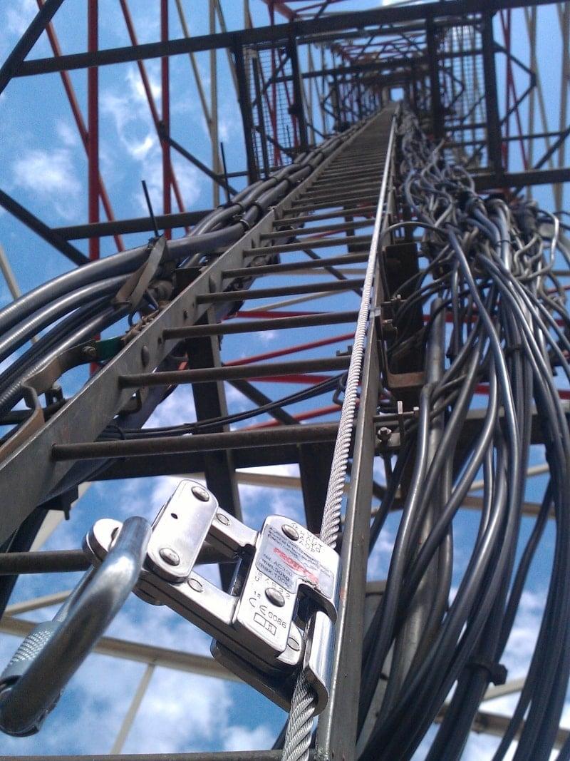 Ladder Fall Arrest Cabloc