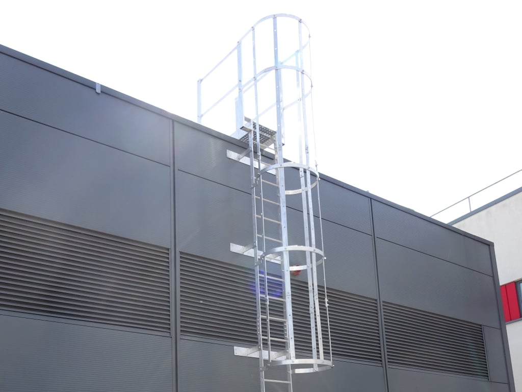 Fixed Vertical Ladders