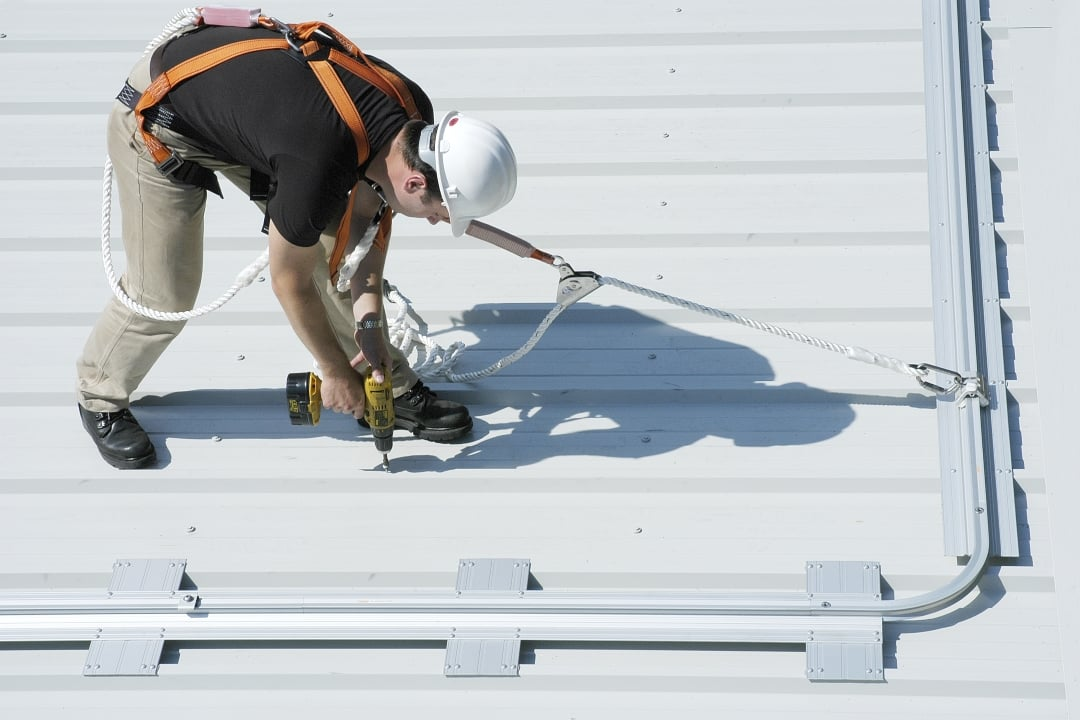 Roof Fall Arrest Mono-Rails